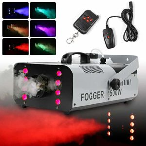 Fog Smoke Machine DJ Disco Club Fogger + télécommande 1500 W