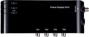 HD-Line HD-14A Alimentation 4 Sorties HDTV pour répartir Le Signal terrestre sans Perte
