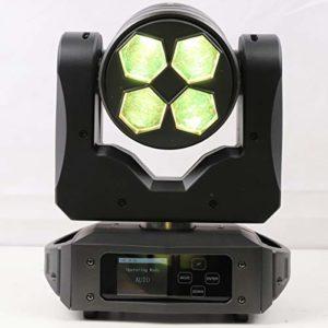 LEDDOO LED THUNDER WASH ZOOM 4 X 40W RGBW