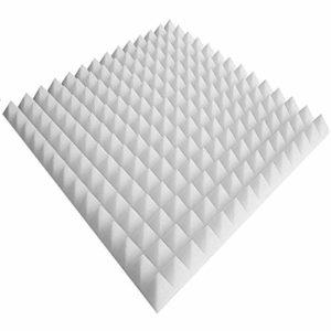 Panneaux acoustiques env. 80 x 50 x 50 x 5 cm Blanc de classe B1 (protection contre l'incendie) panneaux acoustiques Oeuf panneaux acoustiques caisse