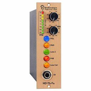 Préamplificateur micro micro HD MicPre au format 500 pour des enregistrements de musique très sensibles