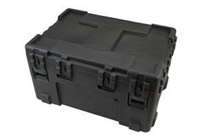 SKB 3R4530-24B-E Etui étanche universel rotomoulé 1143 x 760 x 610 mm + Kit de roulettes Noir