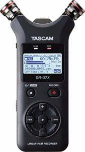 Tascam DR-07X Enregistreur audio portable