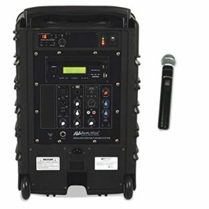 Titan Wireless Portable PA System, 100W Amp, Sold as 1 Each