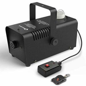 TYZXR Machine à fumée – Machine à fumée Portable à télécommande sans Fil Professionnelle pour Les fêtes de Mariage – Génération Rapide d'un énorme Brouillard 2000 CFM, avec Protection par fusible