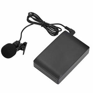 Wuhan Mini Pince sans Fil sur la Bande FM Microphone amplificateur de Voix Microphone Canaux Professionnel