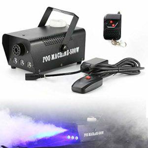 YiWon Fogger Fogger Machine à fumée LED 500 W avec télécommande