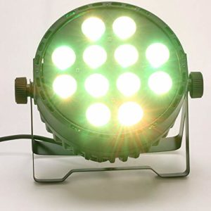 Berkalash Éclairage de scène LED 120 W 4 en 1 RGBW