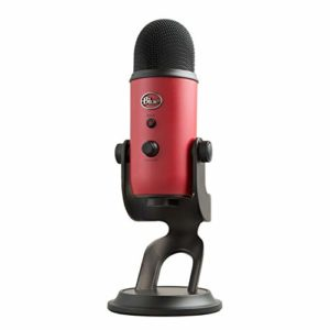 Blue Microphones 168 Yeti USB Mic Microphone Rouge Satin