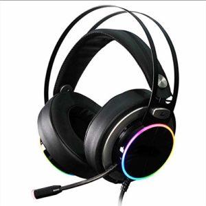 Casque de jeu Internet Cafe Desktop Notebook Surround Sound Esports USB7.1 canaux peuvent être déformés et facilement écouteurs
