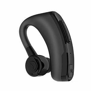 Écouteurs Bluetooth sans fil Bluetooth avec microphone, écouteurs Bluetooth 10 à 12 heures de jeu pour téléphone portable free size Noir
