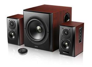 Edifier S350DB Kit d'Enceintes 150 W Noir/Bois