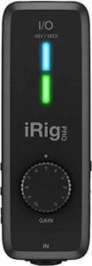 IK Multimedia iRig Pro I/O – Interface MIDI, Interface, 24-bit/96kHz, Son de Qualité, Accessoire pour Smartphone, Interface Mobile pour les Déplacements