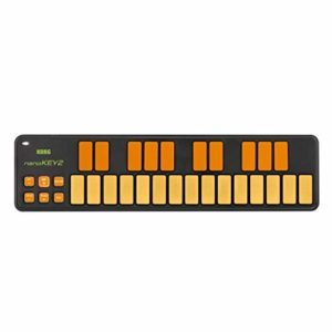 Korg NanoKEY2 Clavier USB MIDI 25 touches Orange Vert