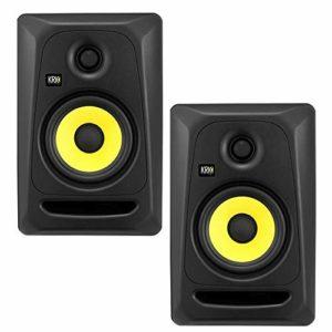 KRK Rokit CL5 G3 Classic Professional Lot de 2 moniteurs de studio bi-amplificateur 12,7 cm