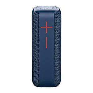 LBL-LLL Haut-Parleur Bluetooth Portable, avec Power Bank Stéréo 3Détanche TWS Tandem Appel Mains Libres Et d'autres Fonctions, Convient pour Les Loisirs Et Le Divertissement,Bleu