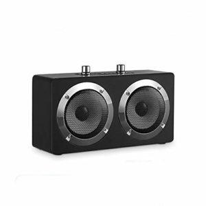 LBL-LLL Haut-Parleur Bluetooth Portable, Distance De Connexion Effective De 30 Mètres, avec Une Qualité De Son Surround Stéréo Radio FM Et d'autres Fonctions, Convient pour Les Loisirs,Noir