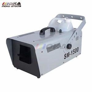 Machine à neige 1500 W Snowflake Machine spéciale Scène DJ Effet DMX512 Télécommande