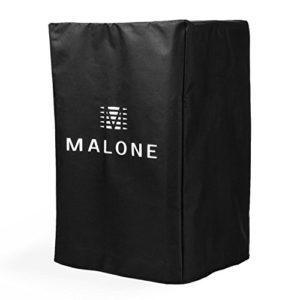 Malone PA Cover Bag 12 – Housse de Protection pour Enceintes Sono 30 cm (12″) Nylon – Noir