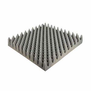 Matériau réducteur de bruit Couleur insonorisant coton, 20PCS Panneaux acoustiques Thicken haute densité durable Taille absorbant le son coton: 50 * 50 * 5 cm Peut être utilisé dans les tuyaux de sall