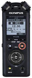 Olympus LS-P2 Dictaphones Connexion PC, Type de Stockage: Mémoire Interne, Enregistreur MP3