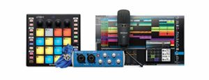 PreSonus ATOM Producer Lab Complete Production Kit with Interface, Microphone and Studio One Artist Software
