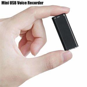RedcolourfulMini enregistreur audio 96 heures 8 Go