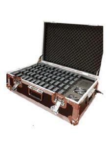Système de Guidage Audio sans Fil pour Le Guide Touristique (4 émetteurs+56 récepteurs+étui de Charge pour 60 appareils)
