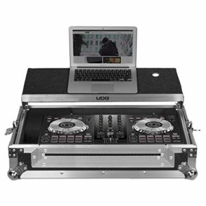 UDG Flightcase Ddj-400/SB3/SB2/RB + (ordinateur portable)–Argent