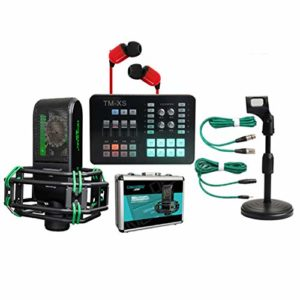 YYZLG Ensemble de microphone à condensateur avec carte son téléphone portable Carte son Live Set