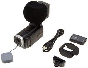 Zoom Q8 – Enregistreur 4 pistes audio & vidéo Full HD compact – compatible capsules amovibles système H