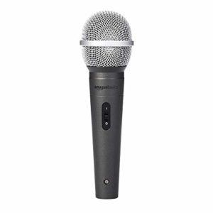 AmazonBasics Microphone vocal dynamique, cardioïde