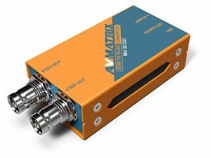 Avmatrix Mini Sc1221HDMI vers double 3G-SDI Poche Diffusion Converter