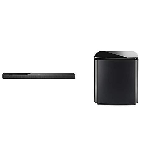 Bose Soundbar 700 Barre de son avec Alexa d'Amazon intégrée – Noir + Module de basses 700 – Noir