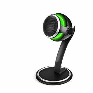 COJFEFG 2 Microphones USB, Accueil Desktop Microphone, Convient for Podcasts, Jeux, Vidéos, Musique enregistrée, Voix