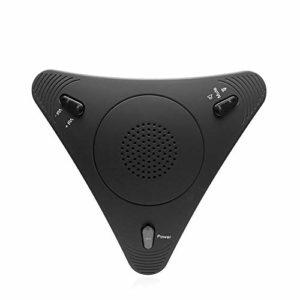 COJFEFG 2 Microphones USB, Echo Cancellation Microphone, Convient for Les podcasts, Jeux, vidéos, Musique enregistrée, Voix