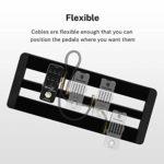 Donner Câble Patch Jack-Jack Mono 15cm pour Pédales d'effet, Pack de 6