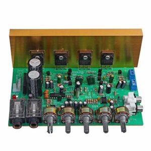 EasyBuying OK Amplificateur 2.0 canaux 100 W + 100 W avec carte amplificateur haute puissance