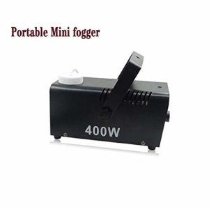 Électrique brumisateur, Forme Mini Portable avec poignée Très Grande fumée pour la Maison, école, marché, étape Ect avec télécommande Facile à Utiliser