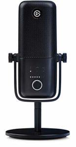Elgato Wave:3, Micro USB à condensateur et solution de mixage numérique haut de gamme avec technologie antiécrêtement et capteur Mute capacitif pour le streaming et la production de podcasts