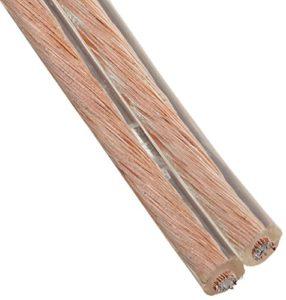 Gearit 16-Gauge Speaker Wire (100Pieds/30.48metres) Noir–Garantie à Vie