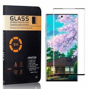 GIMTON Verre Trempé Galaxy Note 10 Plus, sans Poussière, Ultra Transparent, Dureté 9H Protection en Verre Trempé Écran pour Samsung Galaxy Note 10 Plus, 4 Pièces