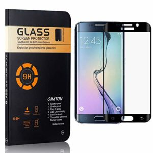 GIMTON Verre Trempé Galaxy S6 Edge Plus, sans Poussière, Ultra Transparent, Dureté 9H Protection en Verre Trempé Écran pour Samsung Galaxy S6 Edge Plus, 4 Pièces
