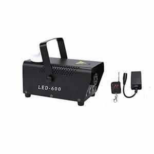 JMFHCD LED Machine à Fumée 600W Machine à Brouillard avec Télécommande sans Fil, Idéal pour Les Fêtes, Discos DJ, Bars, Mariages, Défilés et Théâtrales