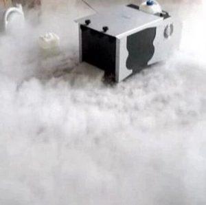 Machine à faible brouillard 1500 W Effet glace sèche Fumée Club DJ Stage Bar Mariage 220 V ou 110 V