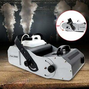 Machine à fumée DMX 1500 W – Lumière de scène – Télécommande – Machine à effets de brouillard