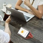 Misstars Coque pour Redmi Note 9S/Note 9 Pro/Note 9 Pro Max Miroir Or Rose, Placage Effet Étui à Rabat en PU Cuir + PC Matière Backcover Transparent Clear View Design Fonction Stand Protector Bumper