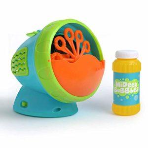 NBHUYT Machine à Bulles, Bulle Automatique du Ventilateur Maker Bubble Bubble Durable Recharge Solutions;Summer Toy Party Favor, Anniversaire, extérieur