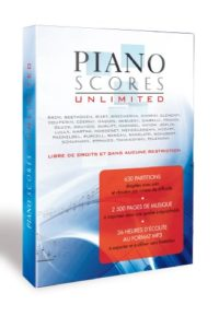 Piano Scores Unlimited Volume 1