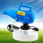 POIUY Désinfection 4.5L Brume électrique des Ordinateurs Portables de fumée Pulvérisateur,Prise Britannique
